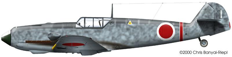 Messerschnitt Bf109E-4/7   Hasegawa 1/48 Bf109E-7-japanese